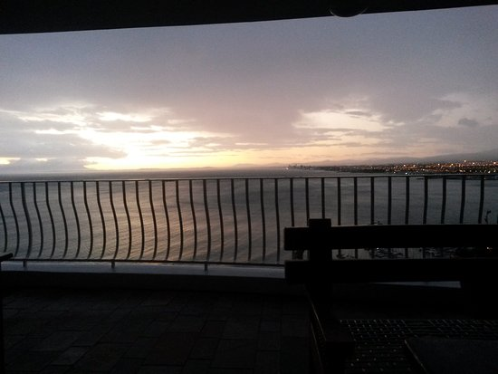 Gordon's Bay, South Africa: ....View from main balcony