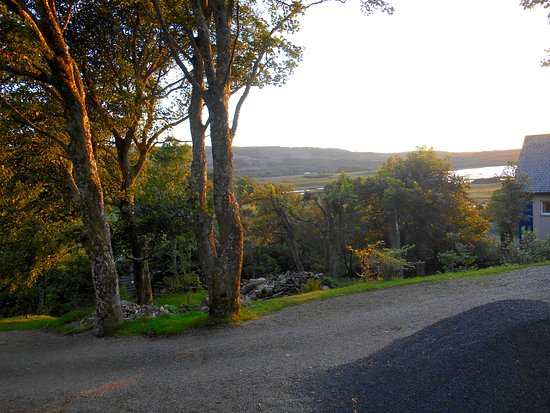 Druimard Country House: View from parking area.