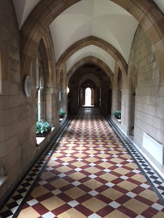 Fort Augustus, UK: One of the many fascinating corridors