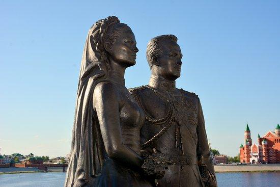 ยอชคาร์-โอลา, รัสเซีย: Грейс Келли и Ренье III