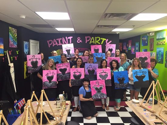 Masterpiece Mixers Paint & Party Studio
