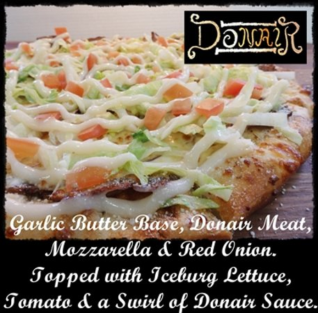 Famous Peppers Pizza : Donair Pizza