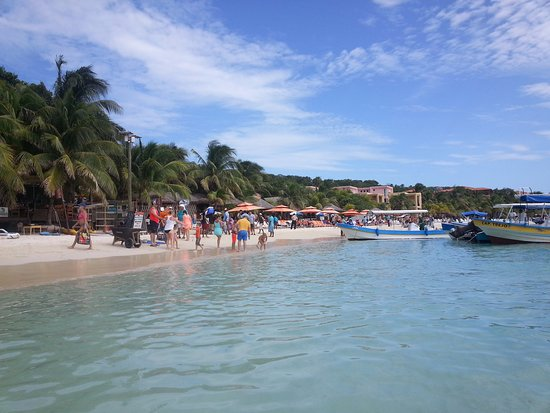 Coxen Hole, Honduras: West Beach, Roatan