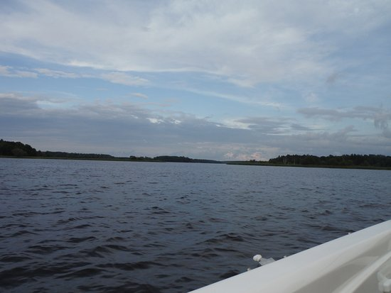 Hayward, WI: out on the water