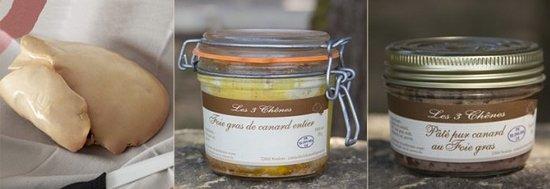 Noulens, Francia: Foie gras entier de canard