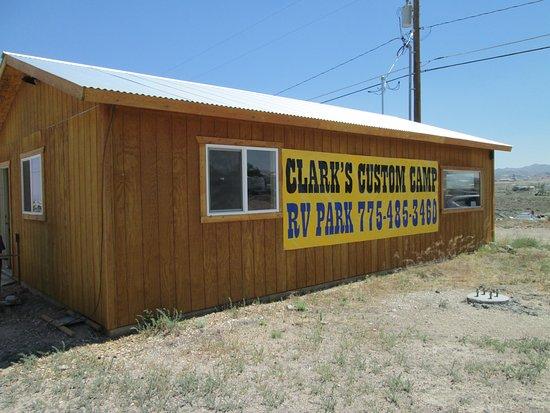Goldfield, NV: Clark's Custom Camp RV Park