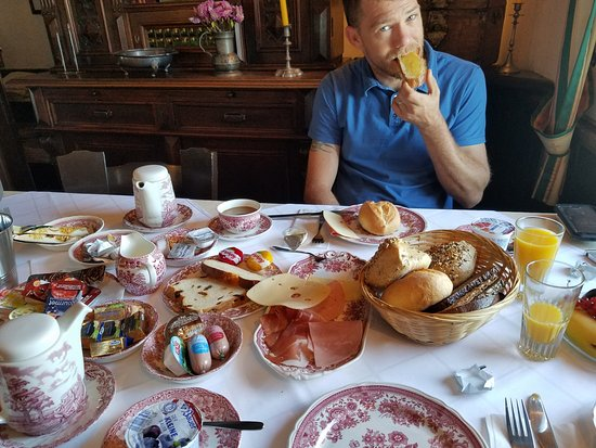 Breakfast spread (included with your stay!)