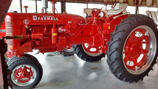 Point Lookout, MO: Farmall tractor in the Tractor/Farm Museum