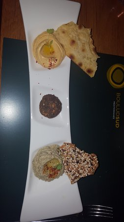 Bar Boulud: Meze platter