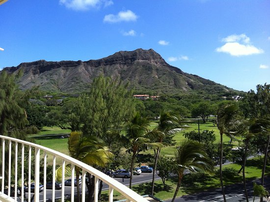View of Kapiolani Park and Diamond Head