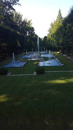 Kennett Square, Pennsylvanie : Fountains! Probably my favorite part =0)