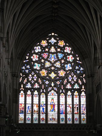 Exeter Cathedral: Great West Window