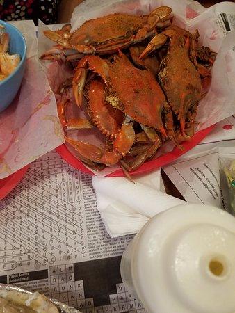 New Bern, NC: Crabs