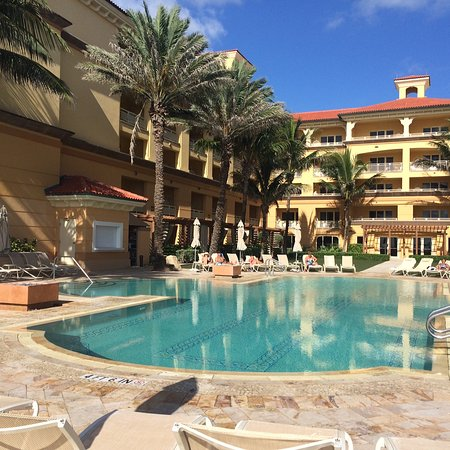 Eau Palm Beach Resort Spa Tranquility Pool Much Quieter Than Larger