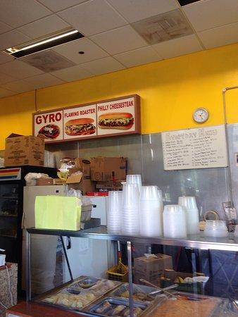 Hazleton, Pensilvania: Angelo's One Pound Cheese Steaks
