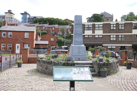 Image result for bloody sunday memorial