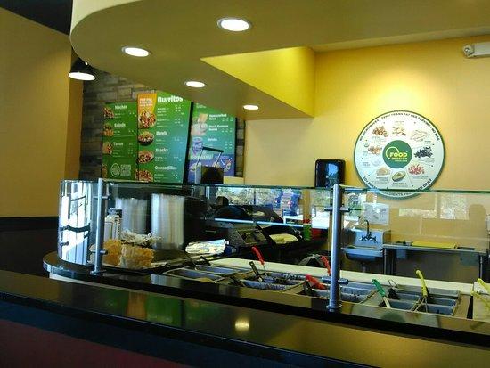 Brooksville, Φλόριντα: Moe's Southwest Grill