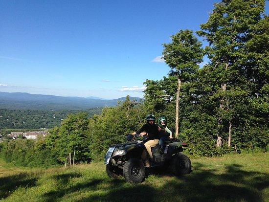 Stratton Mountain, VT : Half way to the summit