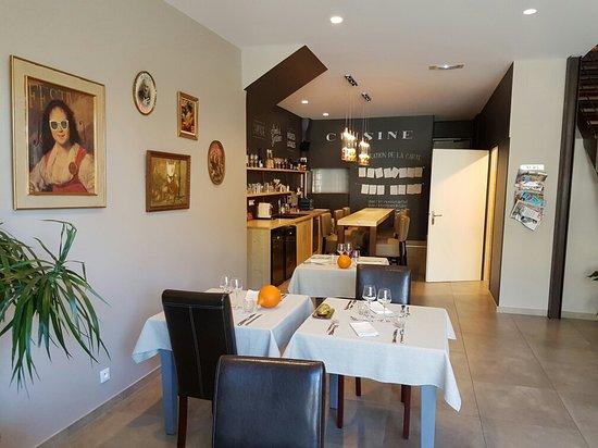 Prades, Frankrike: Restaurant Le Galie