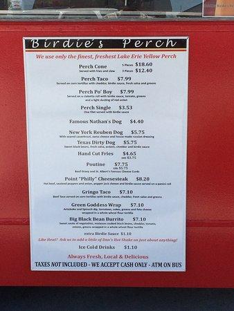 Leamington, Canada : Awesome Lake Erie Perch Tacos