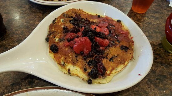 Cary, NC: Mixed Berry Panckes - we ordered just one