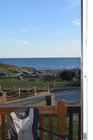 Chideock, UK: View from Langdon Lodge