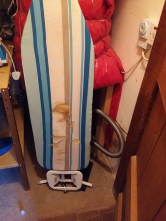 Monmouth, UK: Ironing board