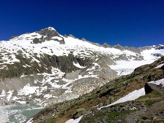 Gletsch, Swiss: Ghiacciaio del Furka 2016