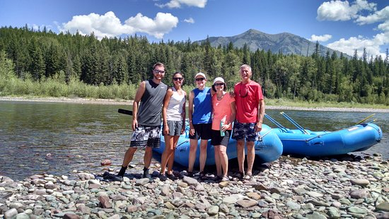 West Glacier, MT: An awesome day with awesome people and awesome views!