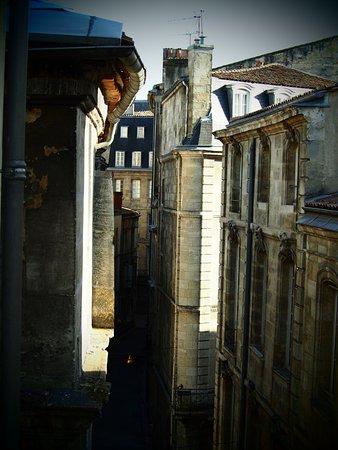 Acanthe Hotel : vue de la vielle ville depuis notre chambre.