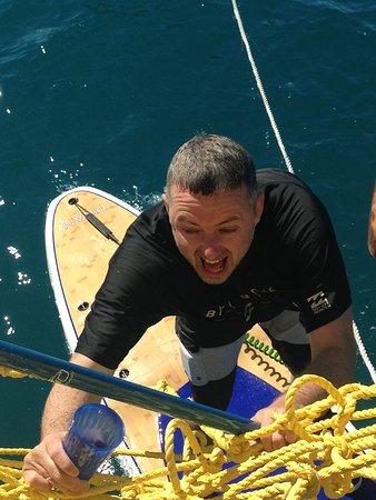 Denarau Island, Fiji: Nailed the SUP