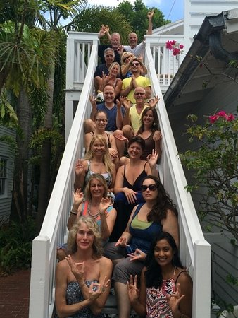 Alexander's Guesthouse: Our Healthy Living Retreat participants.