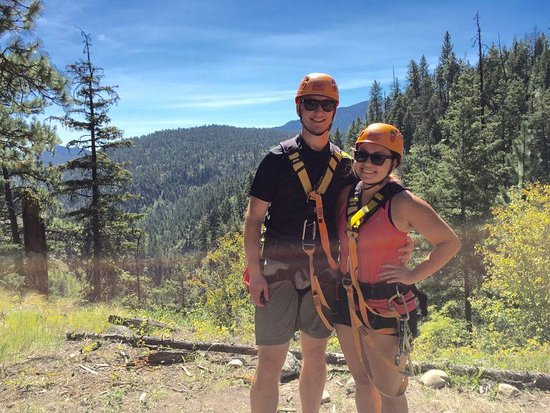 ZipZone Peachland: Perfect day for zipping