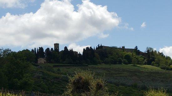 Montespertoli, إيطاليا: View
