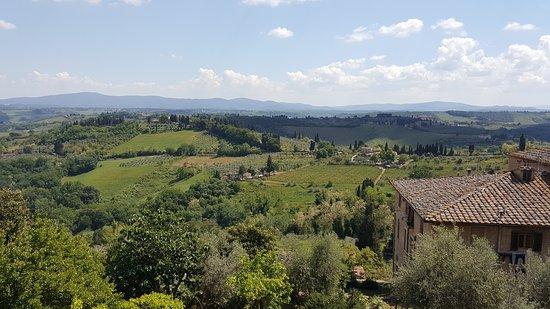 Montespertoli, إيطاليا: View of the area