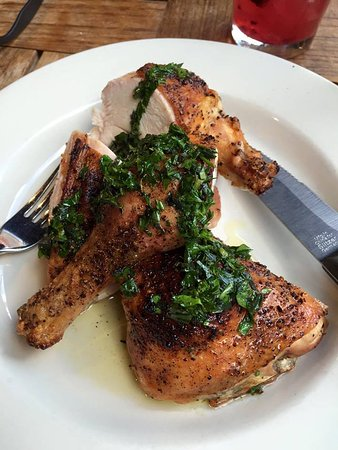 Barbuto: roast chicken
