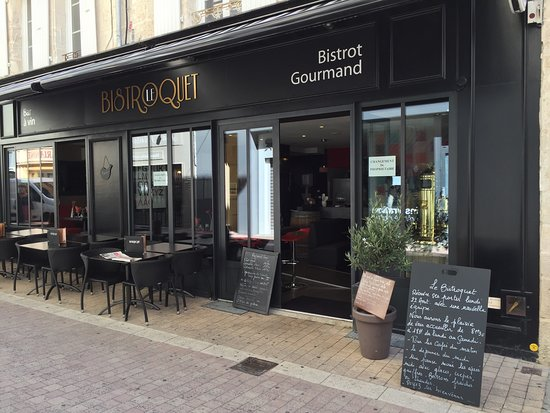 le bistroquet niort restaurantbeoordelingen tripadvisor. Black Bedroom Furniture Sets. Home Design Ideas