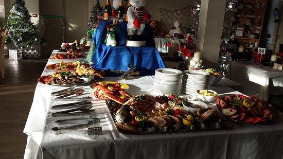 Port Erin, UK: Christmas Buffet