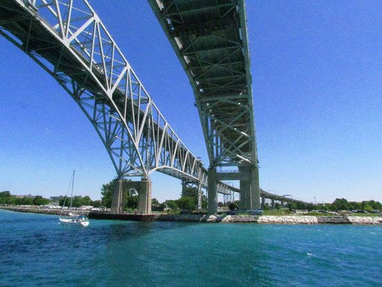 Port Huron, MI: Blue Water Bridges