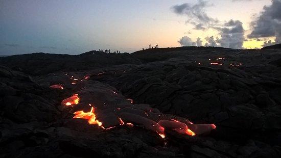 Pahoa, Hawái: A recent Lava Walk!!