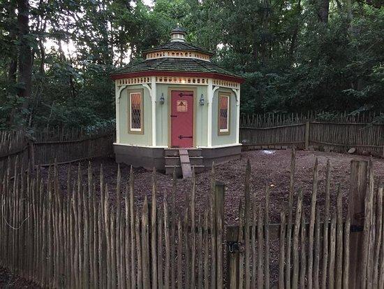 Washington, Virginie : chicken house