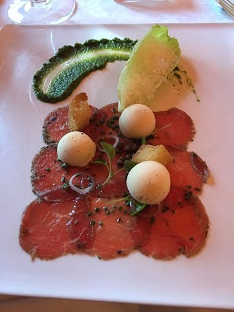 Washington, VA: carpaccio