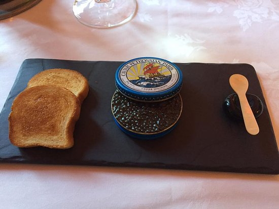 Washington, VA: caviar