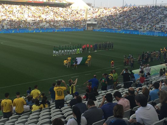 34b4502b3c052 Corinthians Arena   Semifinal do futebol masculino Rio 2016  Nigéria x  Alemanha