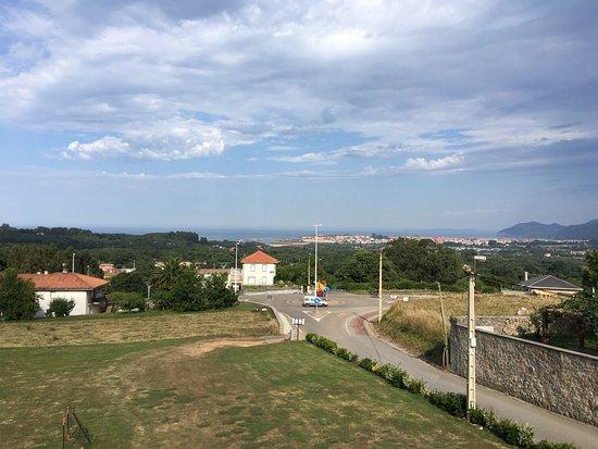 Arnuero, Hiszpania: Desde la habitación al mediodía