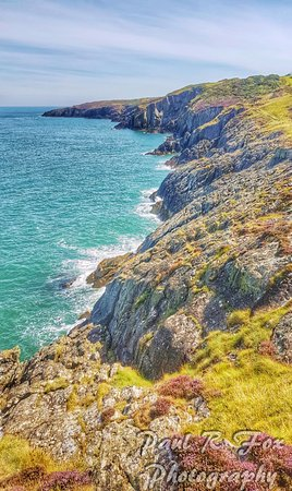 Amlwch, UK : View along the coastal path
