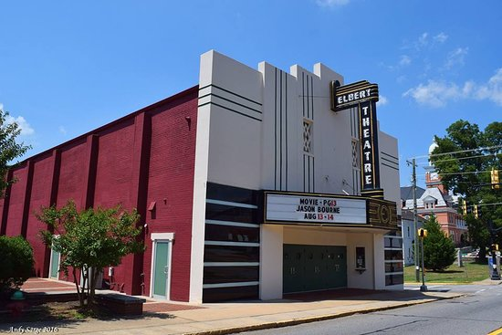 Elberton, GA: South Oliver View of Theatre