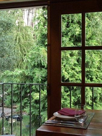 Caramulo, Portekiz: Uma das vistas deste restaurante! A comida condiz na perfeição! Um refúgio a não perder.