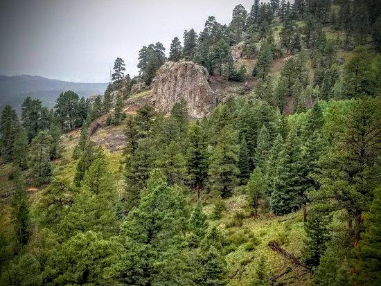 Cumbres & Toltec Scenic Railroad: Neat photo closer to Osier!