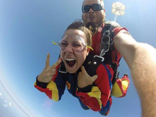 Saint Jerome, Canada: Chute Libre - 13 500 pieds! Demandé Gregggggg le Français!!